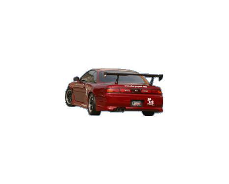 Chargespeed Achterbumper Nissan S14 240SX (FRP)