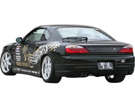 Chargespeed Achterbumper Nissan S15 240SX (FRP)