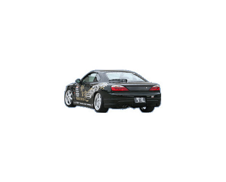 Chargespeed Achterbumper Nissan S15 240SX (FRP), Afbeelding 2
