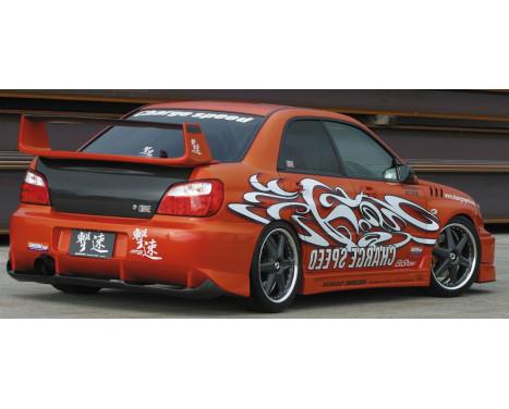 Chargespeed Achterbumper Subaru Impreza GD# (A/B) Type2 + carbon diffuser