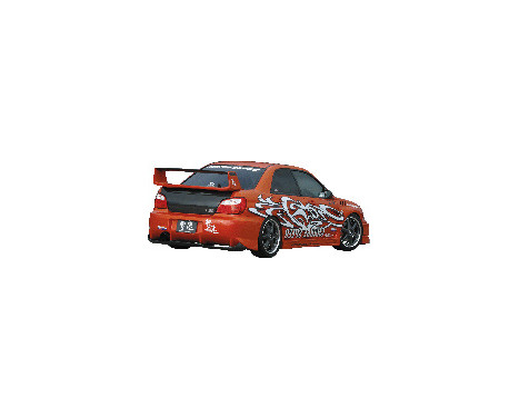 Chargespeed Achterbumper Subaru Impreza GD# (A/B) Type2 + carbon diffuser, Afbeelding 2