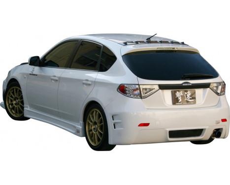 Chargespeed Achterbumper Subaru Impreza GH2/3/6/7/8 9/2007- (FRP), Afbeelding 2