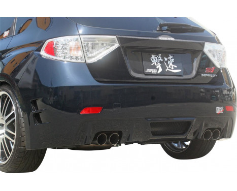Chargespeed Achterbumper Subaru Impreza WRX STi 2008- Type 1 (FRP)