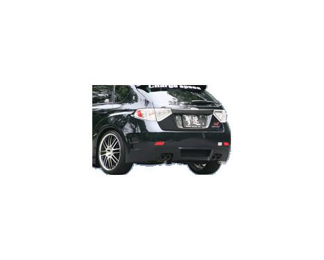 Chargespeed Achterbumper Subaru Impreza WRX STi 2008- Type 2 (FRP), Afbeelding 2