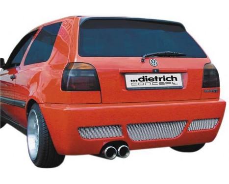 Dietrich Achterbumper Volkswagen Golf III 1991-1997