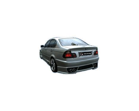 IBherdesign Achterbumper BMW 3-Serie E46 Sedan Tarchon incl. gaas, Afbeelding 2