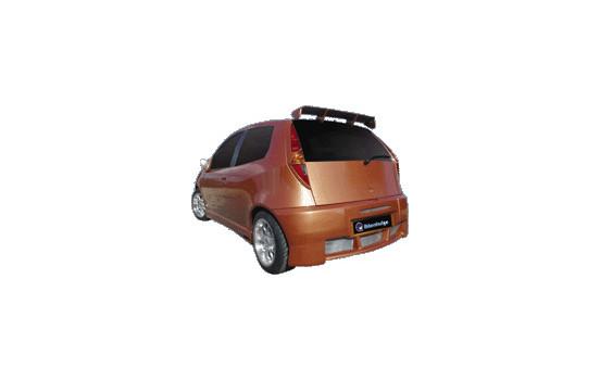 IBherdesign Achterbumper Fiat Punto II/III 3-deurs 1999-2006 'Viper'