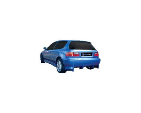 IBherdesign Achterbumper Honda Civic HB 1992-1995 'Komodo'