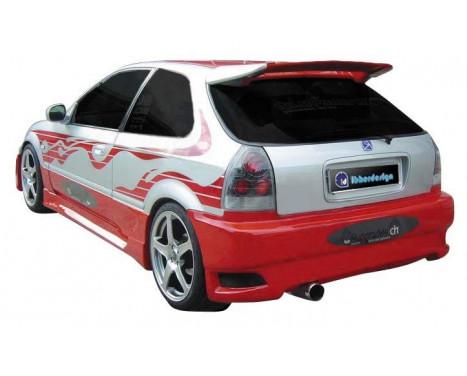 IBherdesign Achterbumper Honda Civic HB 1996-1999 'Eagle R1'