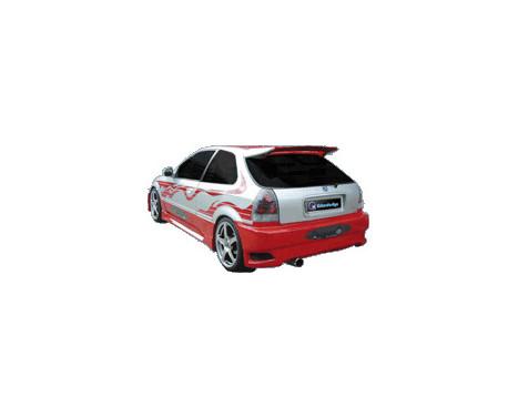 IBherdesign Achterbumper Honda Civic HB 1996-1999 'Eagle R1', Afbeelding 2