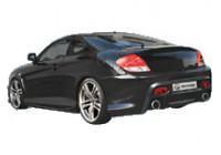 IBherdesign Achterbumper Hyundai Coupe 2002- 'Outlaw'