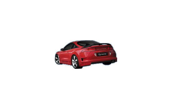 IBherdesign Achterbumper Mitsubishi Eclipse 1995-1997 'Rebel'