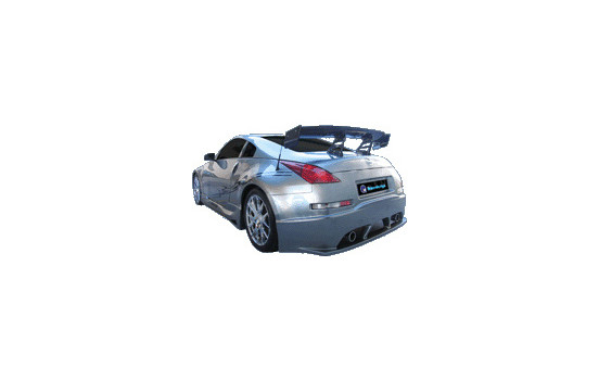 IBherdesign Achterbumper Nissan 350Z 'Venom' incl. gaas