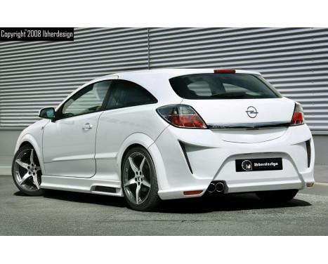 IBherdesign Achterbumper Opel Astra H GTC 3-deurs 'Viruss'