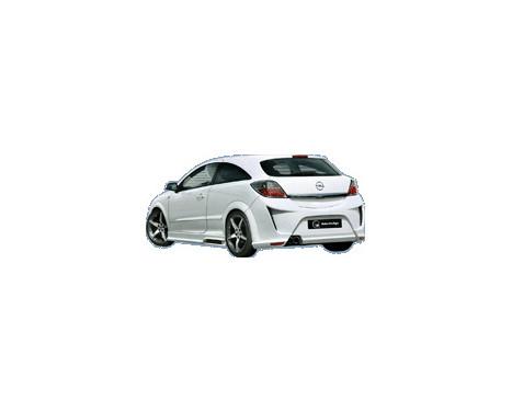 IBherdesign Achterbumper Opel Astra H GTC 3-deurs 'Viruss', Afbeelding 2