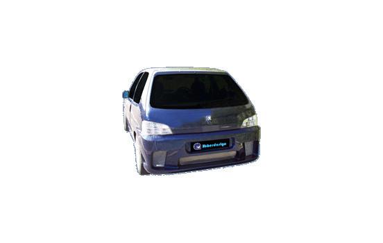 IBherdesign Achterbumper Peugeot 106 II 1996- 'Wizard' incl. gaas