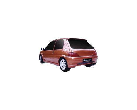 IBherdesign Achterbumper Peugeot 106 MKII 1996- 'Mirage', Afbeelding 2