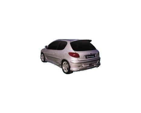IBherdesign Achterbumper Peugeot 206 'Cobra' incl. gaas, Afbeelding 2
