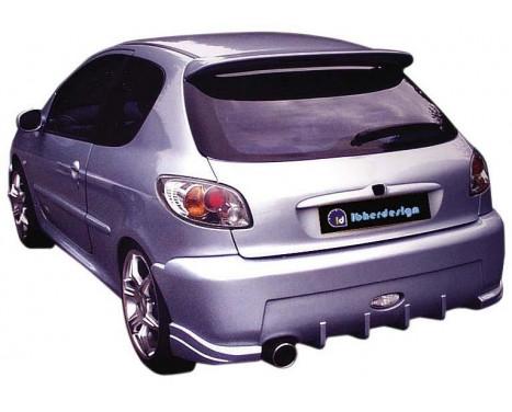 IBherdesign Achterbumper Peugeot 206 'Enigma' incl. gaas