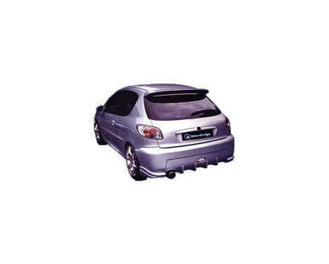 IBherdesign Achterbumper Peugeot 206 'Enigma' incl. gaas, Afbeelding 2