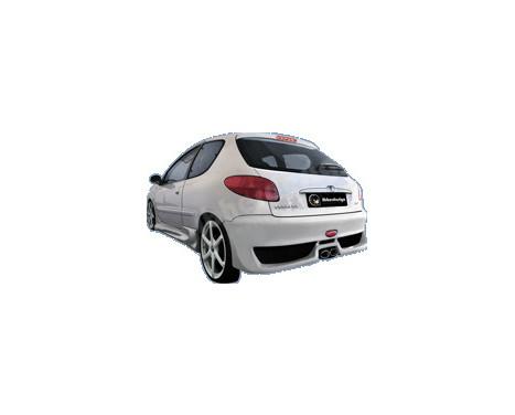 IBherdesign Achterbumper Peugeot 206 'MaxStyle', Afbeelding 2