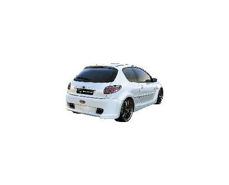IBherdesign Achterbumper Peugeot 206 'Xodos Wide'