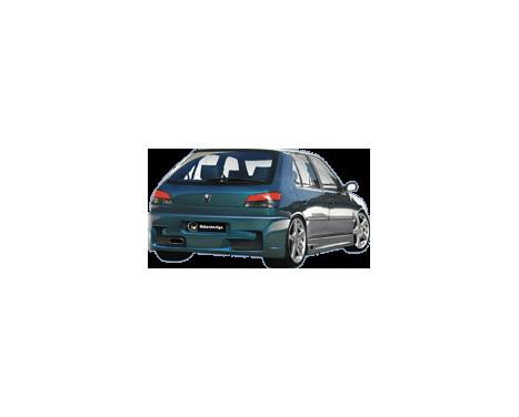 IBherdesign Achterbumper Peugeot 306 'Voltage', Afbeelding 2