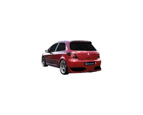IBherdesign Achterbumper Peugeot 307 3/5-deurs 'Shuman' incl. gaas