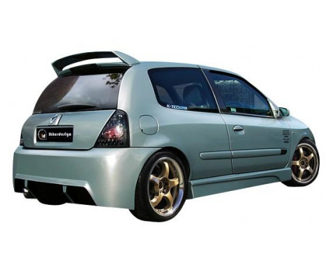 IBherdesign Achterbumper Renault Clio II/III 6/1998- 'Kombat Evo'