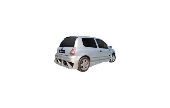 IBherdesign Achterbumper Renault Clio II/III 6/1998- 'Warp'