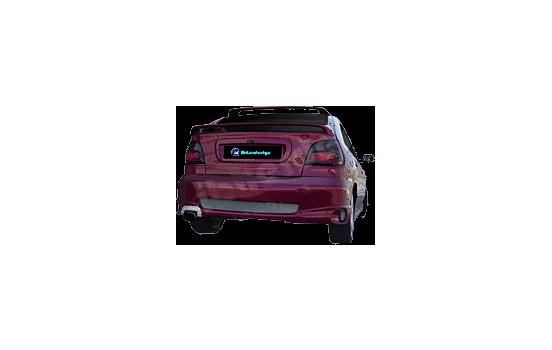 IBherdesign Achterbumper Renault Megane 5-deurs -2002 'Tribute' incl. gaas