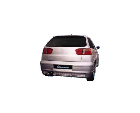 IBherdesign Achterbumper Seat Ibiza 1999-2002 'Eclipse' incl. gaas, Afbeelding 2