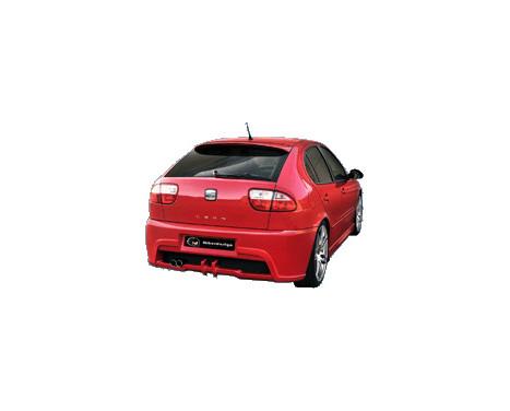 IBherdesign Achterbumper Seat Leon 1M 1999-2005 'Abyss', Afbeelding 2