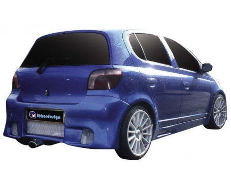 IBherdesign Achterbumper Toyota Yaris 'K-19' incl. gaas