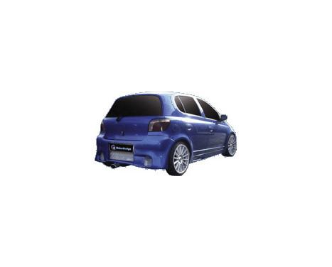 IBherdesign Achterbumper Toyota Yaris 'K-19' incl. gaas, Afbeelding 2