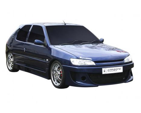 Carzone Voorbumper Peugeot 306 Fase II 1997- 'Vega'