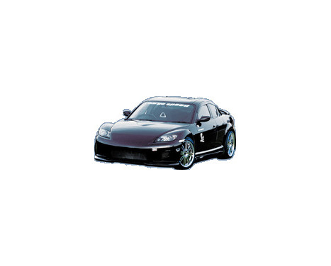 Chargespeed Voorbumper Mazda RX-8 SE3P (FRP)
