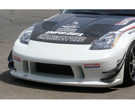 Chargespeed Voorbumper Nissan 350Z Z33 Type1 (FRP) (enkel icm vorig type reflectors), Afbeelding 2