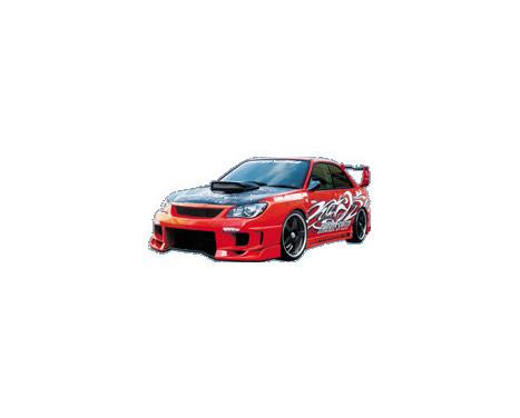Chargespeed Voorbumper Subaru Impreza GD# (F/G) Type2, Afbeelding 2