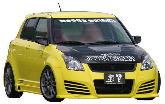 Chargespeed Voorbumper Suzuki Swift II 2005- 'Type 1' (FRP)