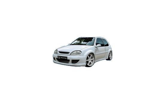 IBherdesign Voorbumper Citroën Saxo 2000- Warrior Wide incl. gaas