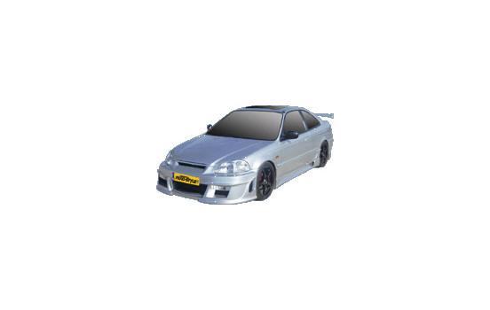 IBherdesign Voorbumper Honda Civic 2/3-deurs 1996-1999 'Eagle R1'