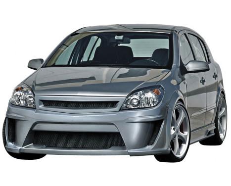 IBherdesign Voorbumper Opel Astra H 3/5-deurs 9/2003- 'Viruss'