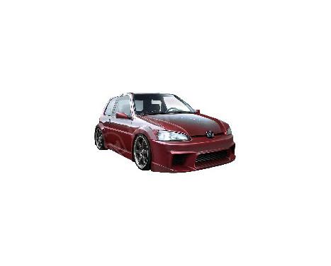 IBherdesign Voorbumper Peugeot 106 MKII 1996- 'Wizard Wide'