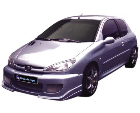 IBherdesign Voorbumper Peugeot 206 'Enigma' incl. gaas