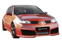 IBherdesign Voorbumper Renault Megane II 10/2002- 'Evo' VRE14
