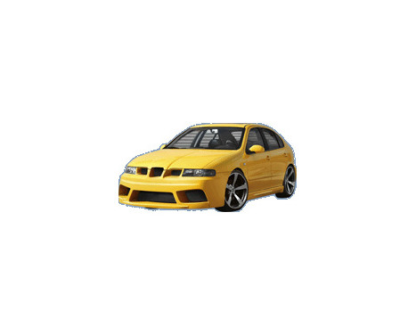 IBherdesign Voorbumper Seat Leon/Toledo 1M 1999-2005 'Veleta', Afbeelding 2
