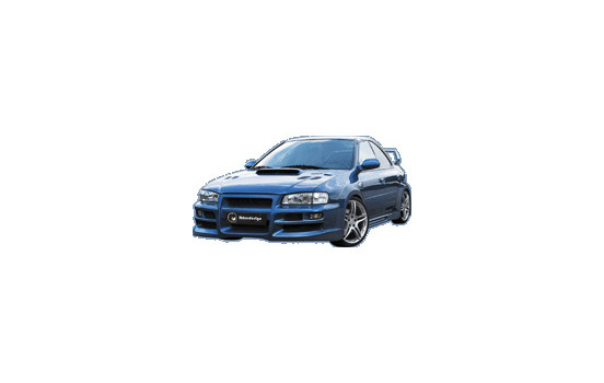 IBherdesign Voorbumper Subaru Impreza 1995-2001 'Mazther'