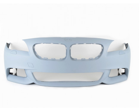 M Sport voorbumper BMW F10/F11  + M-performance splitter, Afbeelding 2