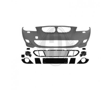 Voorbumper BMW 5er (E60/E61) 'M-TECH' , Afbeelding 2